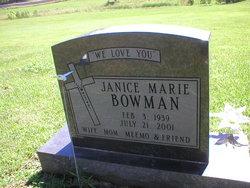 Janice Marie Bowman