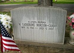 Mary Catherine Cathy <i>Norton</i> Cerbo