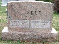 Julian Sangston Clarke