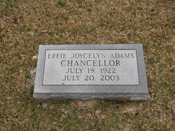 Evvie Joycelyn <i>Adams</i> Chancellor