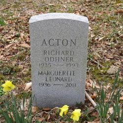 Marguerite <i>Leonard</i> Acton