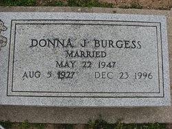 Donna Jean Burgess