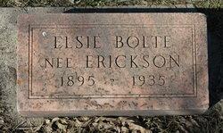 Elsie <i>Erickson</i> Bolte