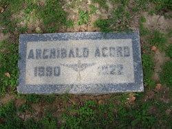 Archibald Lester Acord
