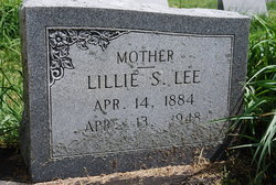 Lillie <i>Spencer</i> Lee