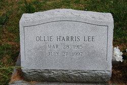 Ollie Harris Lee