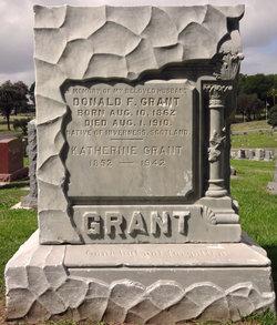 Donald F Grant