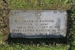 Frank H Ransom