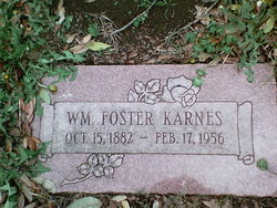 William Foster Karnes, Sr