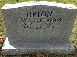 Irma <i>Richards</i> Upton