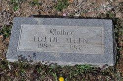 Lottie <i>Dilts</i> Allen
