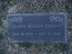 Gladys <i>Ogden</i> Thomas