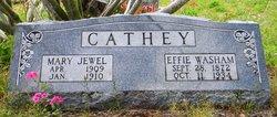 Mira Effie <i>Washam</i> Cathey