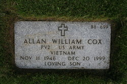 Allan William Cox