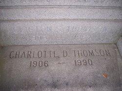 Clifton Samuel Thomson