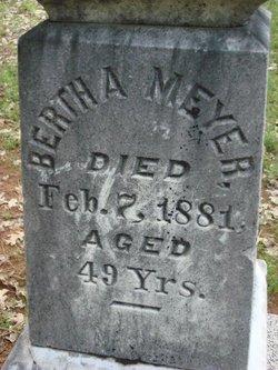 Bertha A Meyer