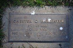 Chester Orbie C.O.  Pop Hardister