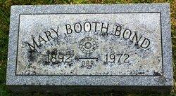 Mary <i>Booth</i> Bond