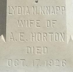 Lydia Maria <i>Knapp</i> Horton