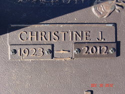 Christine <i>Hegwood</i> Jones