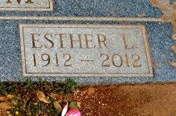 Esther L. <i>Schneider</i> Croom