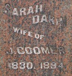 Sarah C. <i>Dakin Wemple</i> Coomer