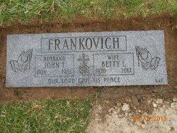 Betty Lamarr <i>Stenger</i> Frankovich