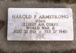 Lieut Harold F Armstrong