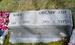 Marie <i>Grigsby</i> Ash