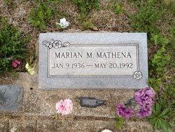Marian M. Mathena