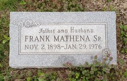 Frank Mathena, Sr