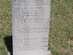 Molcy <i>Allen</i> Roberts