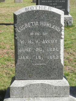 Lucretta <i>Howland</i> Avery