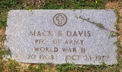 Mack B Davis