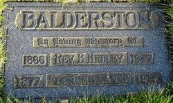 Florence Ann <i>Morris</i> Balderston