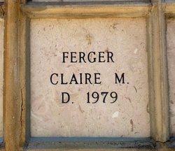 Virginia Claire <i>McCartney</i> Ferger