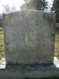 Harriett Durand <i>Pine</i> Dukehart
