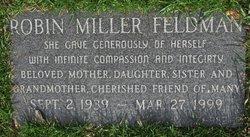Robin <i>Miller</i> Feldman