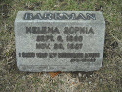 Helena Sophia <i>Johnson</i> Barkman
