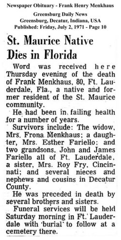Frank Henry Menkhaus