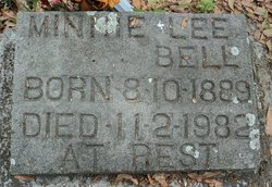 Minnie Lee Bell