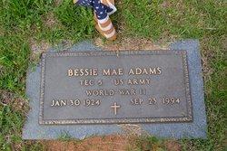 Bessie Mae Adams