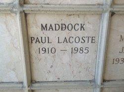 Paul LaCoste Maddock