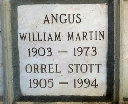 Orell <i>Stott</i> Angus