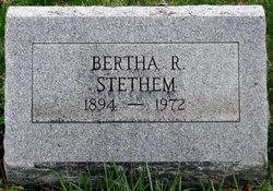 Bertha R. Stethem