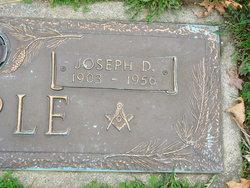 Joseph D Maple