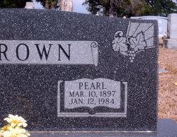 Bertha Pearl <i>Caffey</i> Brown