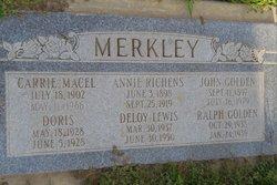 Annie <i>Richens</i> Merkley