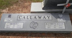 Kathryn <i>Davis</i> Callaway