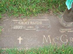 Gertrude McGregor
